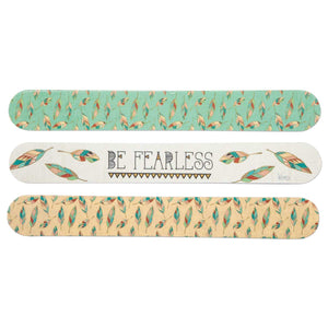 Be Fearless Arrow Emery Board Set