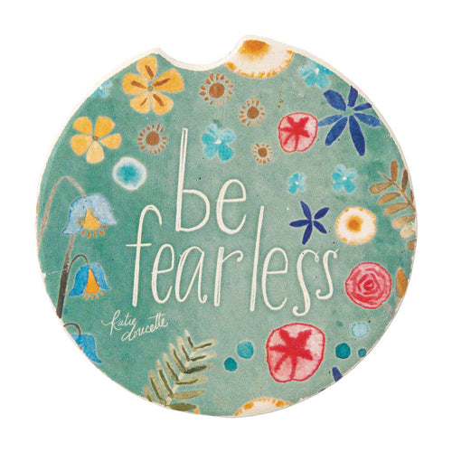 Be Fearless Car Coaster