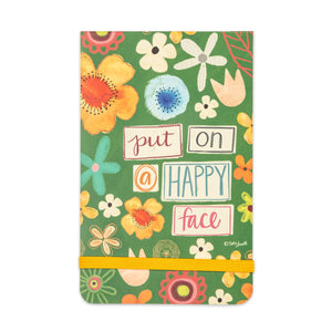 Put On A Happy Face Pocket Notepad