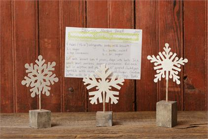 Snowflake Holder Large