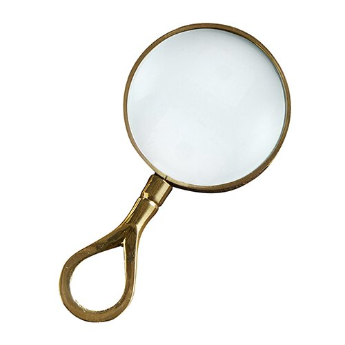 Magnifying Glass Mini Gold