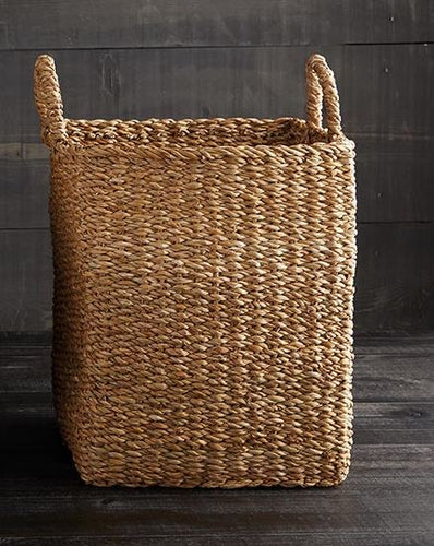 Sea Grass Basket with Handles - Large