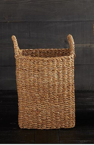 Sea Grass Basket with Handles - Small