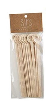 SIPS Stir Sticks Set - 5 styles available