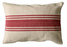 Load image into Gallery viewer, Farmhouse Stripe Lumbar Pillow