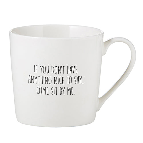 Sit By Me Cafe Mug