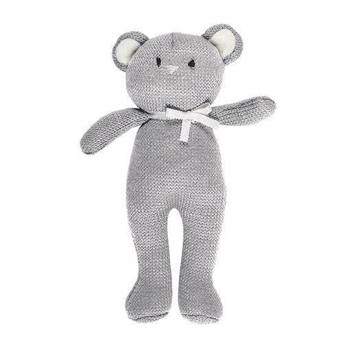 Knit Bear - Grey