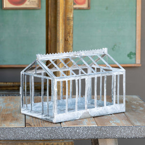 Metal Greenhouse Frame Model Display