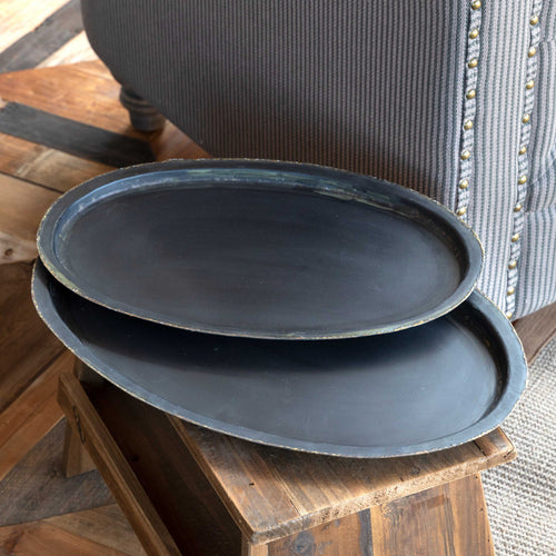 Old Tavern Tray- Oval Large
