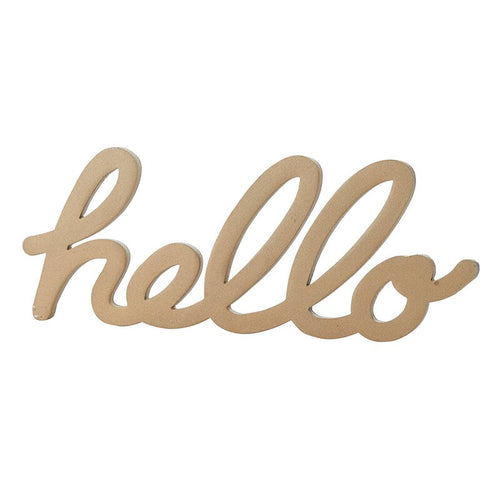 Lexicon Paperweight - Hello