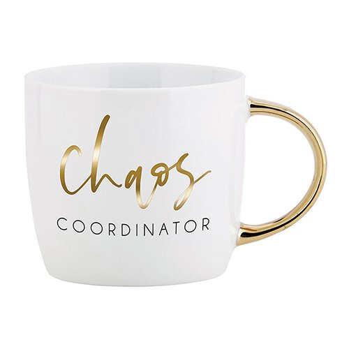 Chaos Coordinator - Gold Handle Mug