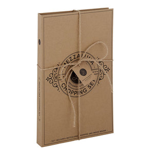 Mezzaluna Chopper Cardboard Book Set