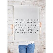Load image into Gallery viewer, Word Board - Love Big