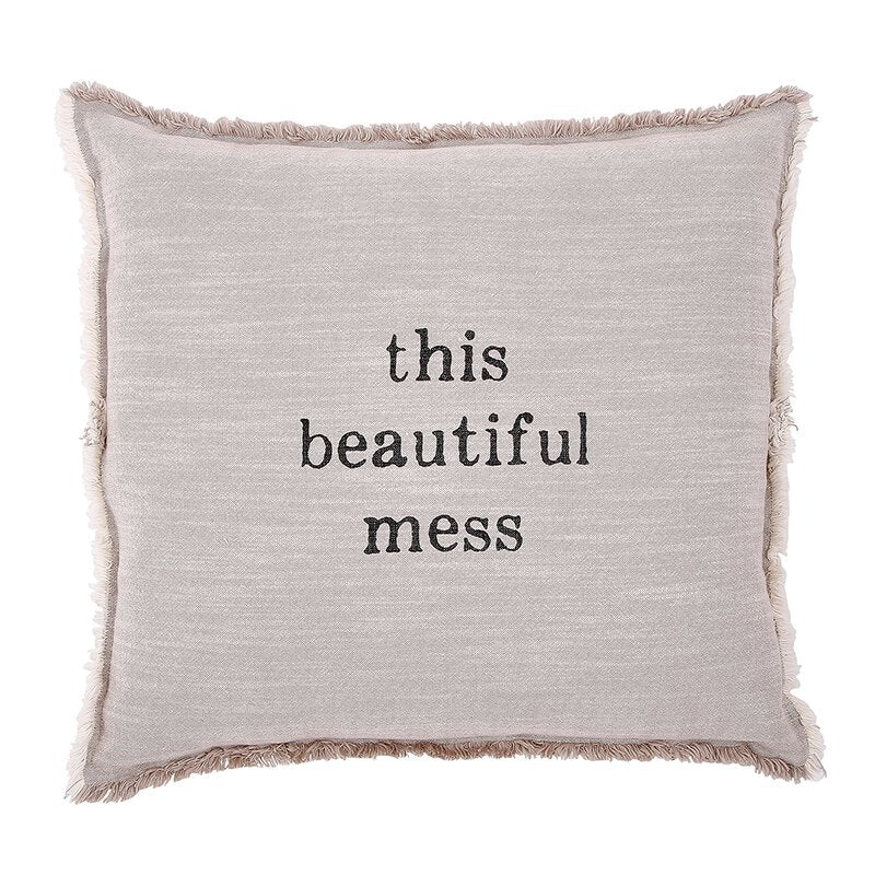 This Beautiful Mess - Square Sofa Pillow
