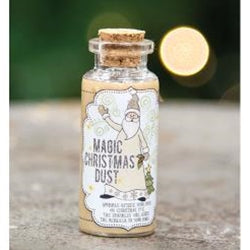 Magic Christmas Dust Jar w/Glitter