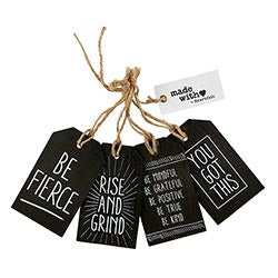 Wood Gift Tags - You Got This