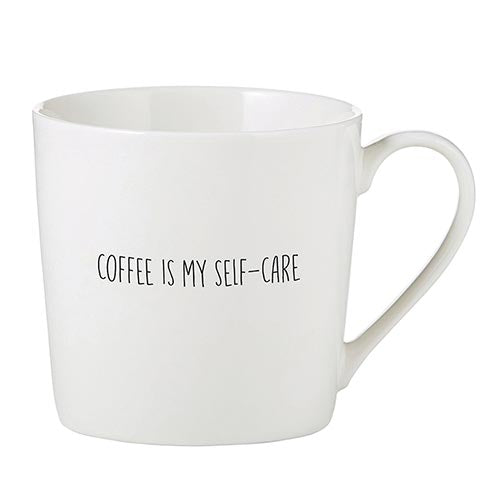 Coffee is My Self-Care Café Mug