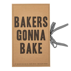 Cardboard Book Set - Baking