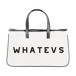 Canvas Tote - Whatevs