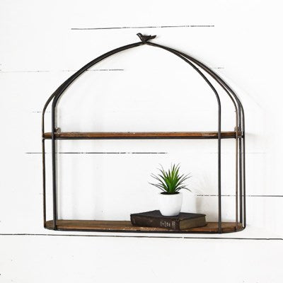 Cage Look Wall Shelf