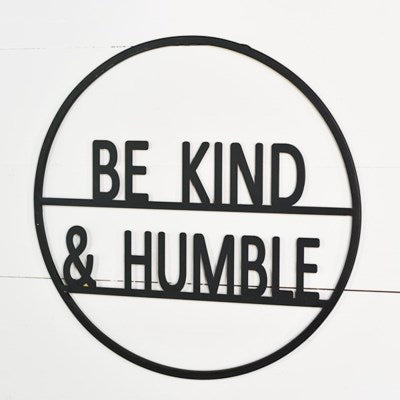 Be Kind & Humble