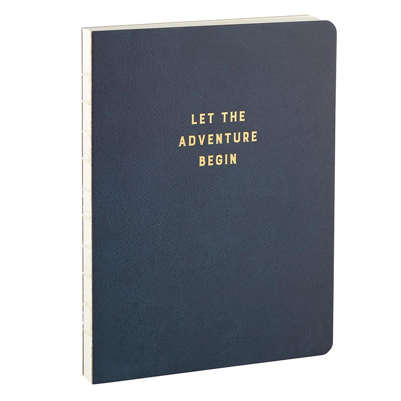 Let The Adventure Begin Journal