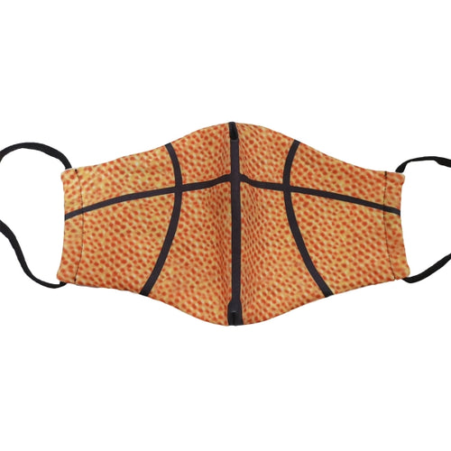 Sports Pattern Reusable Mask - Child Size