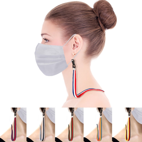 Multi Color Mask Strap - Adult Size