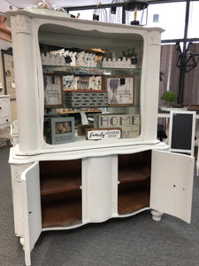 """Belle"" Curved Hutch"