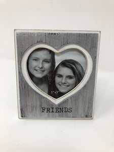Friends Cut Out Wood Frame