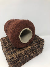 Load image into Gallery viewer, Vintage Spool with Yarn Rust