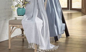 Stolle Throw Light Blue