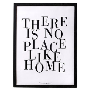 """There Is No Place Like Home"" Wall Decor"