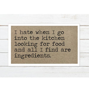 Only Ingredients Magnet