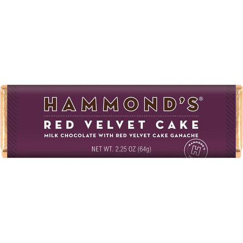 Red Velvet Cake Milk Chocolate Candy Bar
