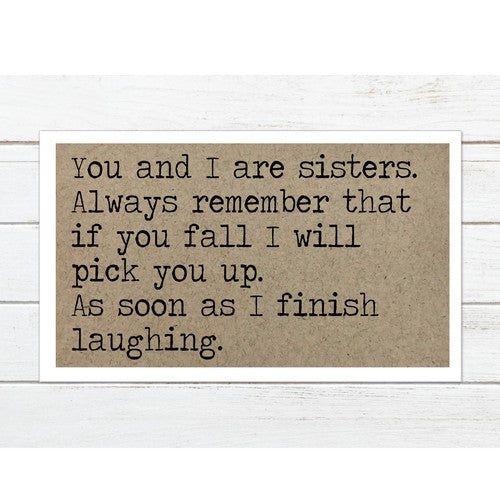 You and I are Sisters Magnet