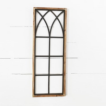 "Load image into Gallery viewer, 32"" Tin and Wood Window Frame"