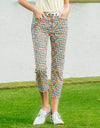 women's printed pants