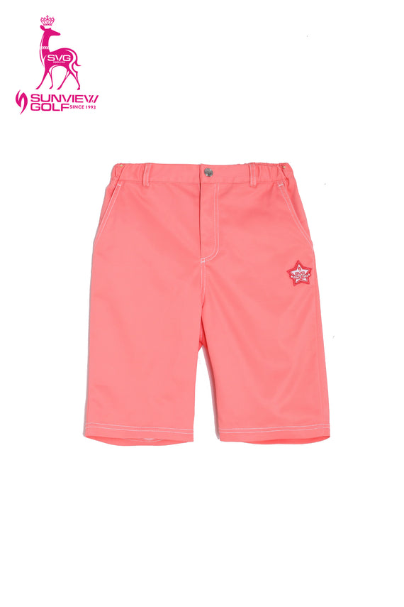Boy's Orange Shorts