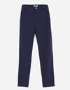 Boy's straight pants, in navy.
