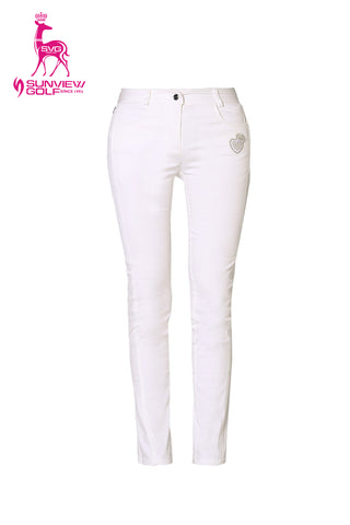 SVG Skinny-Fit Pants