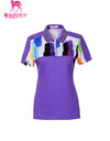 Rainbow Block Polo