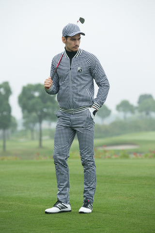 SVG Gingham Stretch Pants