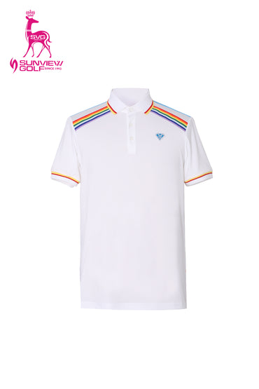 Rainbow Striped Tee
