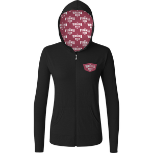 Ladies Triblend Full Zip (ATH2759)