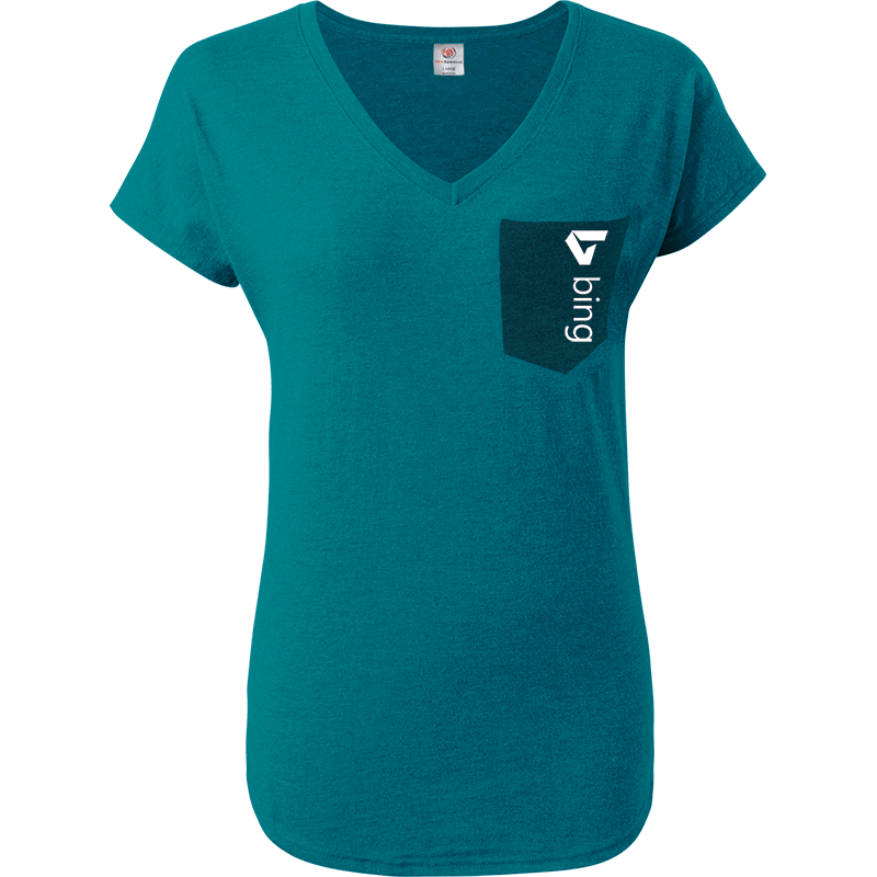 Ladies Premium Triblend V-Neck (ATV2675)