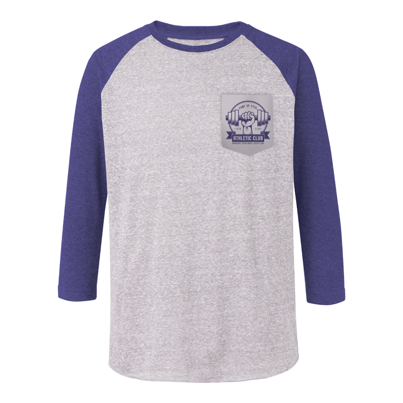 Triblend Baseball Tee (BT1737)