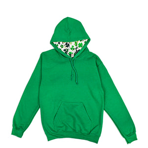 St. Patrick's Multi Clovers Pullover