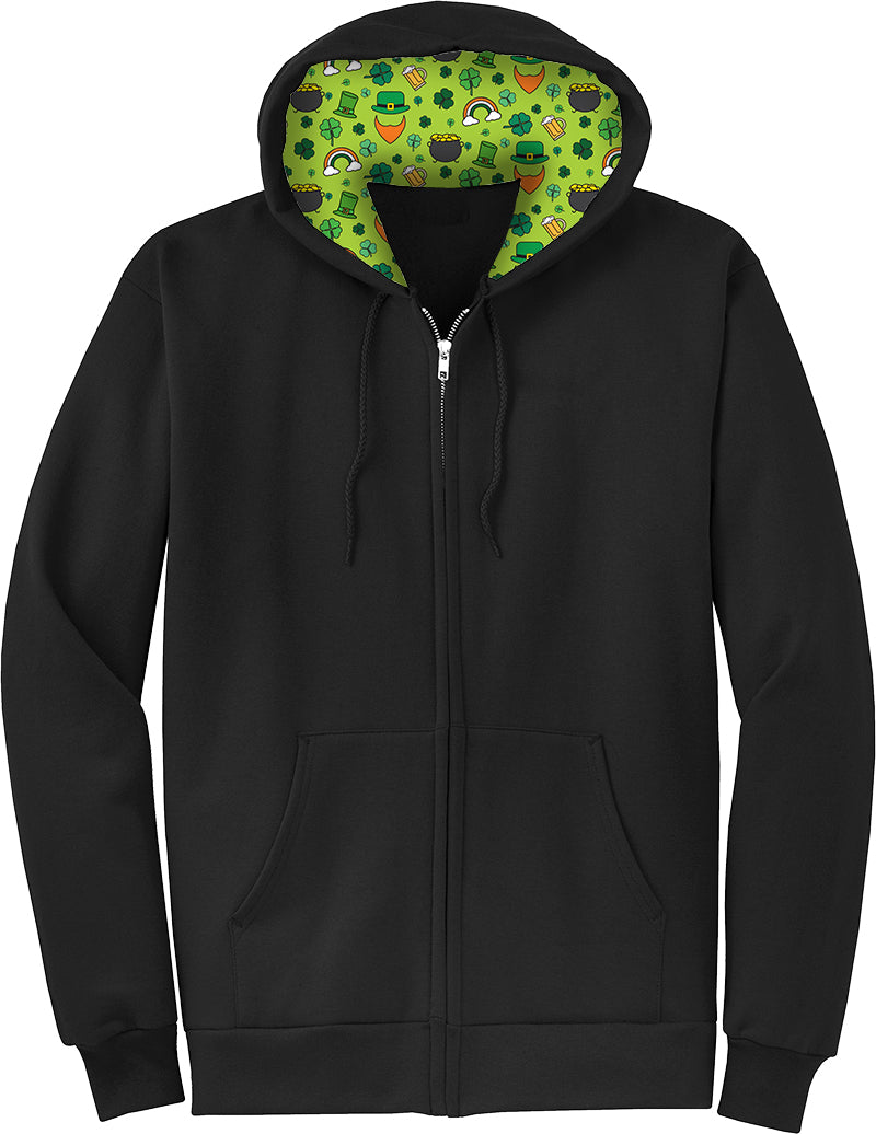 St. Paddy's Lucky Icons Full Zip