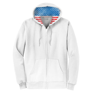 Patriotic Flag Full Zip